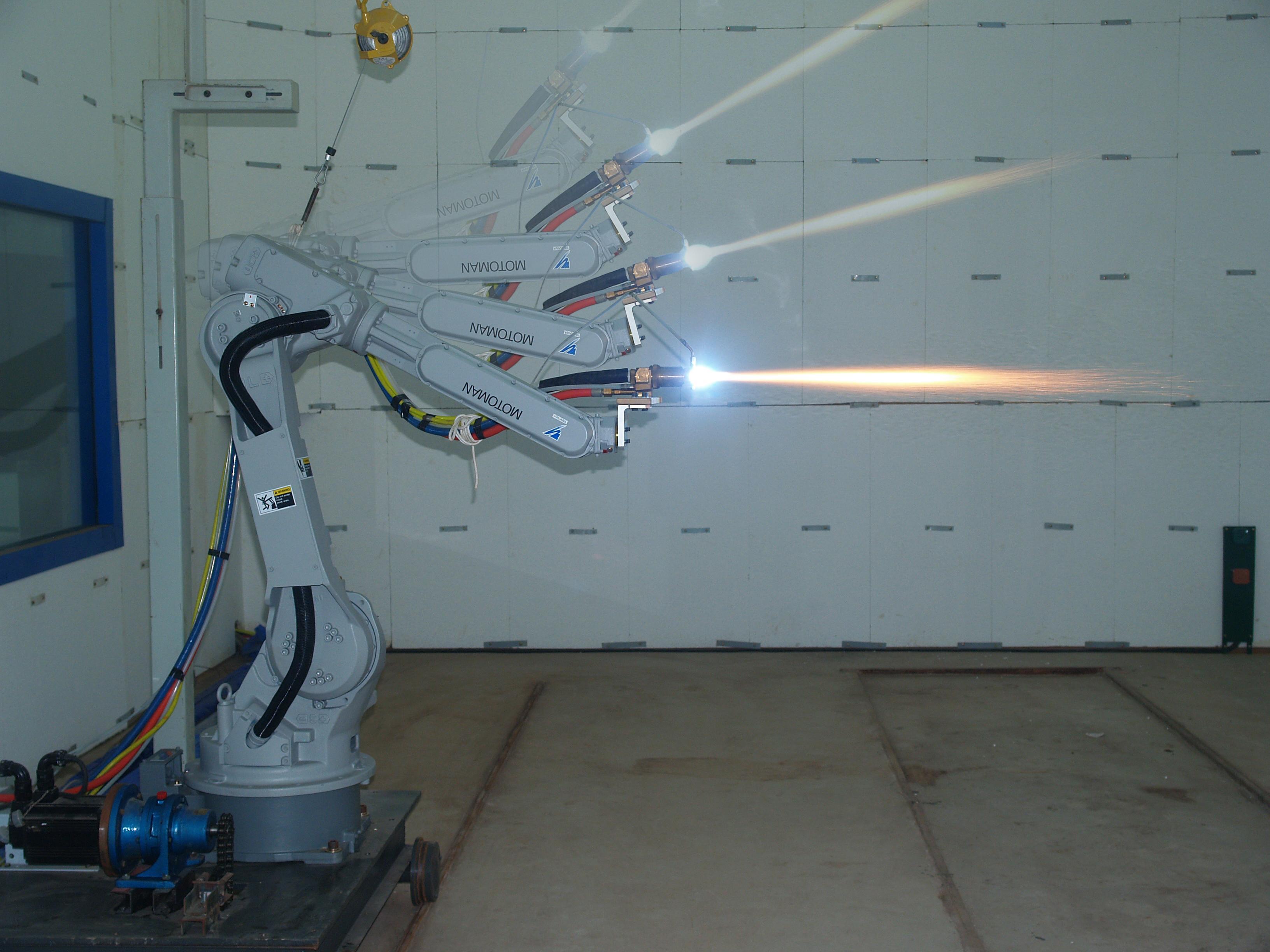 电弧喷涂设备没有复杂的操纵机构